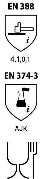 Gants nitrile et néoprène : Nitrile fin - sans silicone