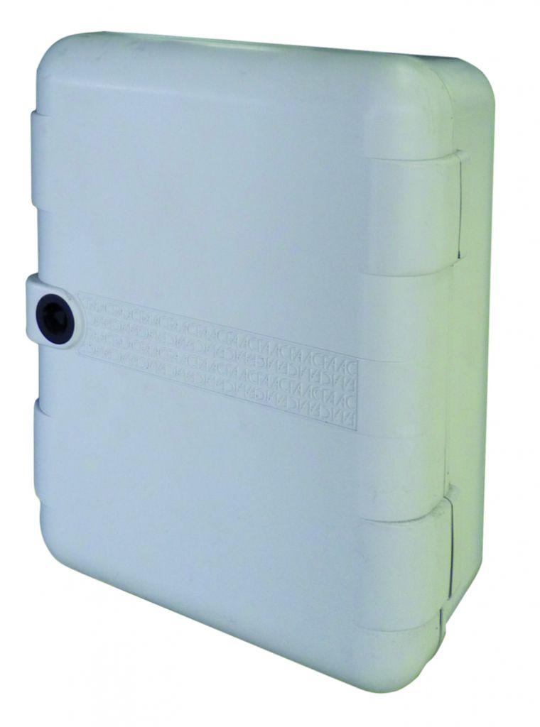 Motorisation de porte et portail : Coffret PVC pour électronique Faac
