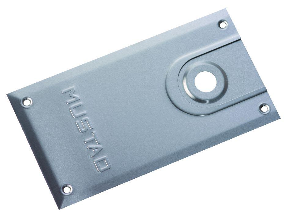 Pivot à frein Mustad : Plaque de recouvrement pour pivot à frein 8660 TH - Thermo + Mustad