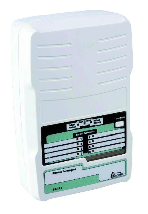 Boîtier d'alarme technique : Boîtier d'alarme technique - coffret