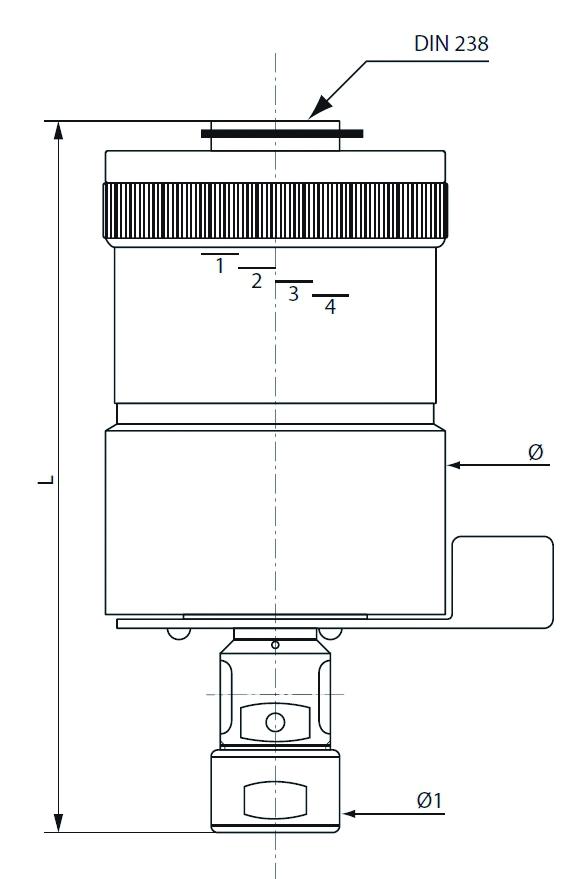 Machine stationnaire travail du métal : Appareil à tarauder RTH 312