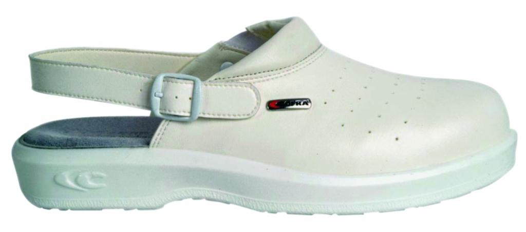 Chaussures blanches : Sabots Kevin - SB/FO/SRC/E/A