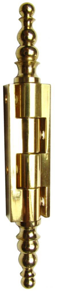 Rotation : A vase - broche acier / corps laiton