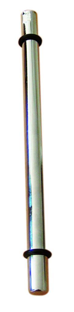 SUP.TABLETTE ROND D12X250 CHROME