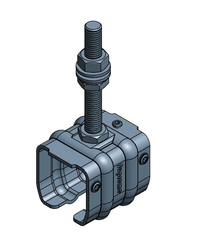 SUPPORT TIGE M14X109,5MM P/QUARTO
