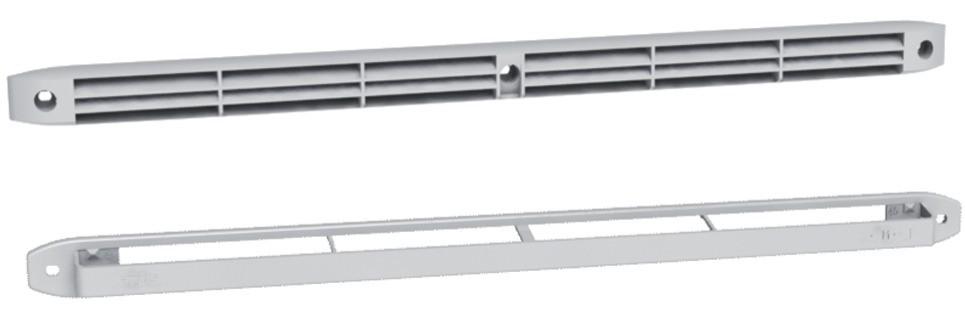 Ventilation : Entrée d'air auto-réglable type M