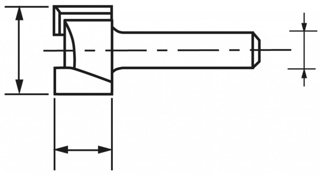 MECHE AFFLEURAGE DTE HM Q6 D19 LU16
