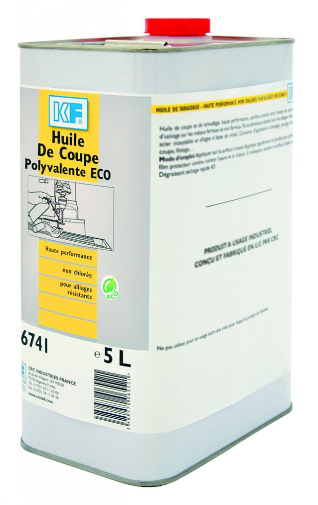 Produits de maintenance : Huile de coupe polyvalente ECO
