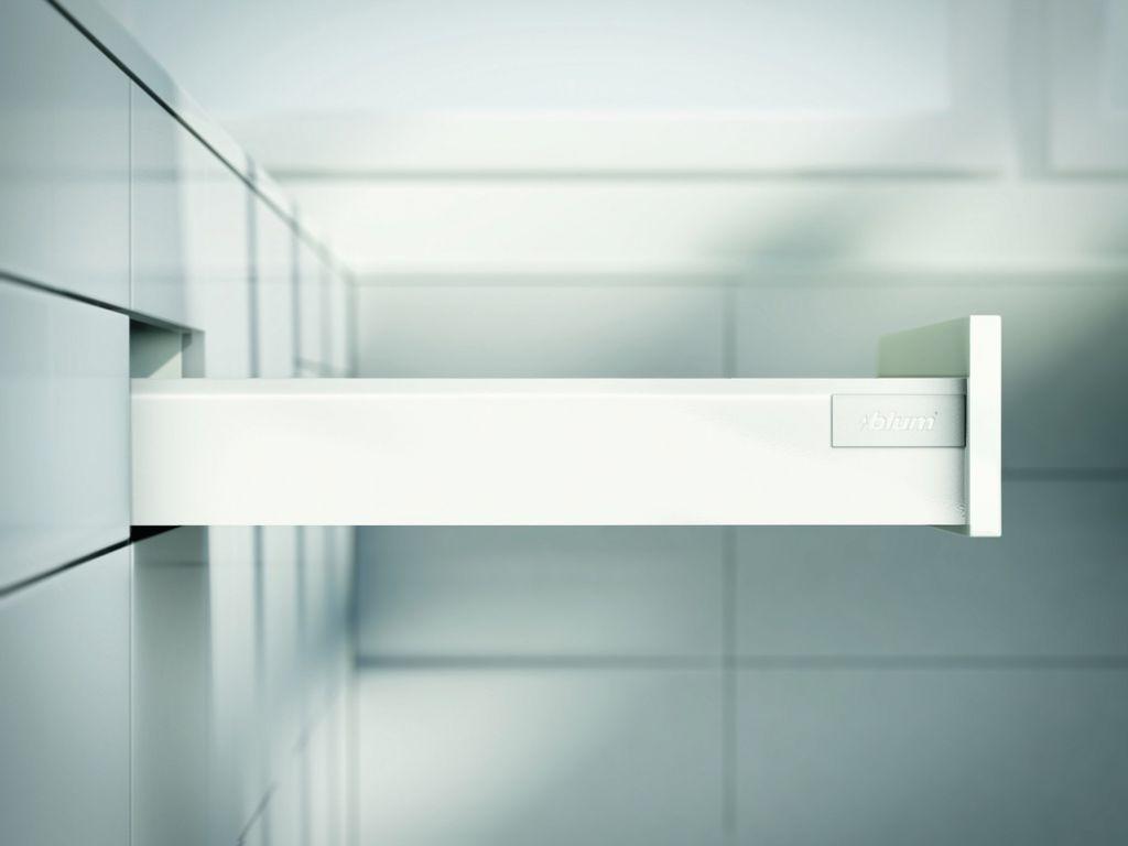 Kit tiroir double paroi Blum - antaro - TIP-ON : Kit antaro TIP-ON hauteur N : 82,5 mm