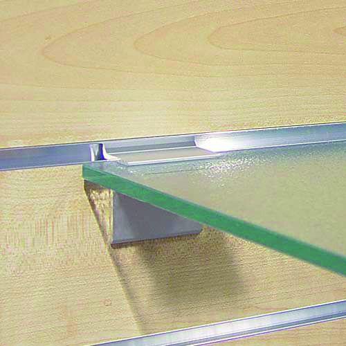 Crémaillère et console - Bohnacker Fuego : Support tablette verre 8 mm