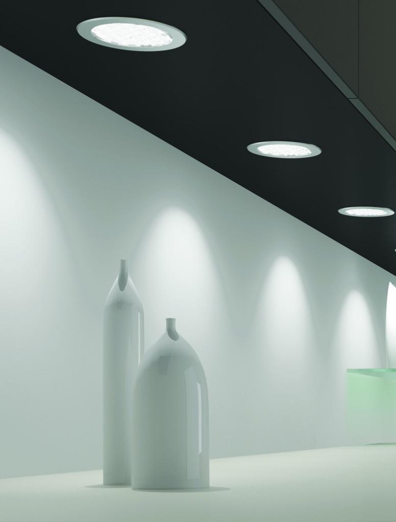 Luminaire led : Kit 3 spots Metris - blanc neutre