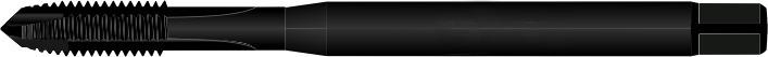 Taraud mécanique haute performance : HSSE vaporisé acier inox jusqu'à 120 kg