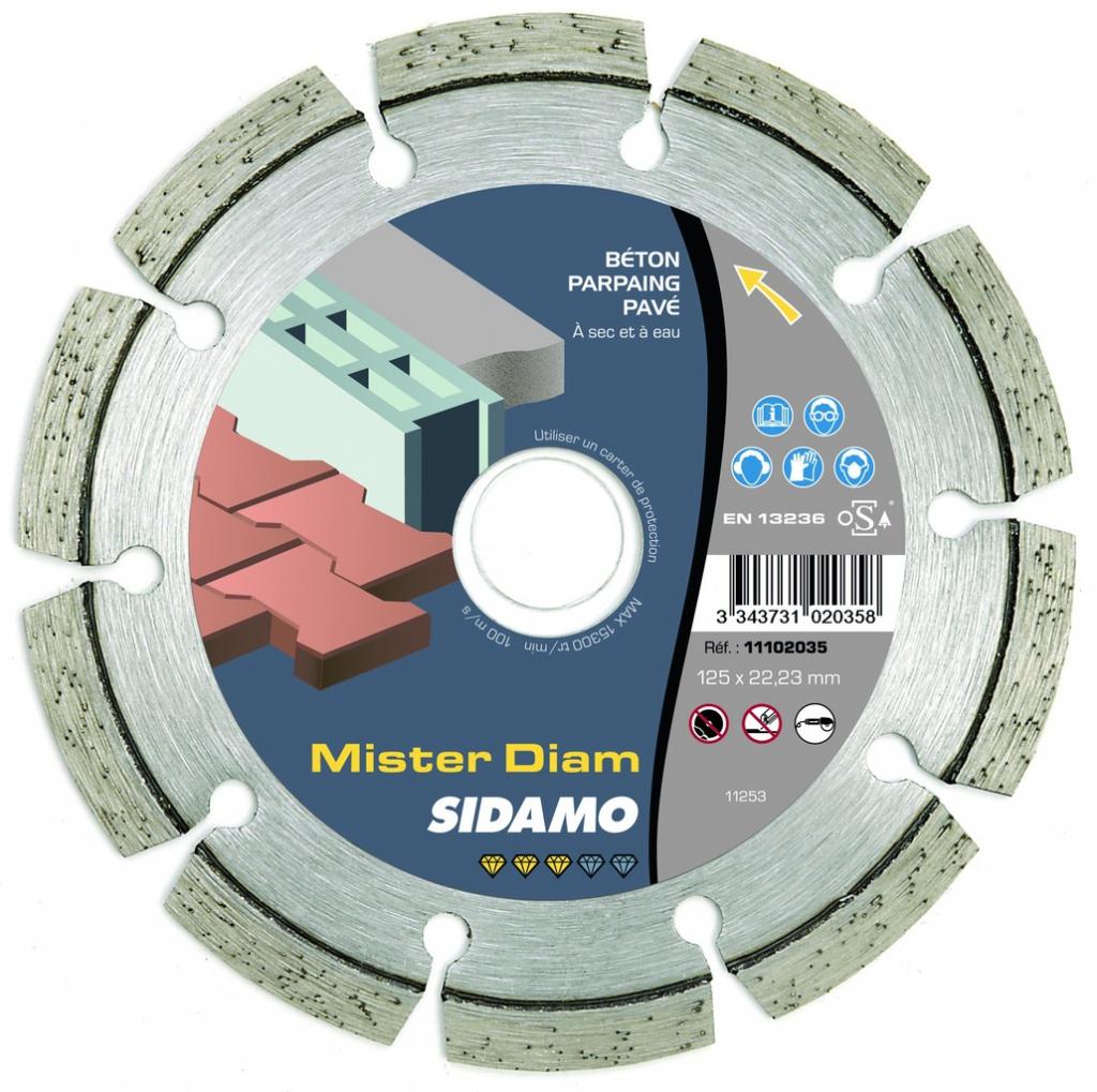 Disque diamant : MisterDiam - série Standard