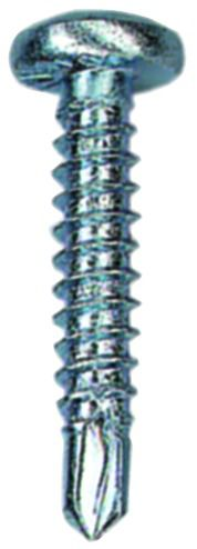 Vis autoperceuse : Tête cylindrique empreinte Torx acier zingué - DIN 7504 MT
