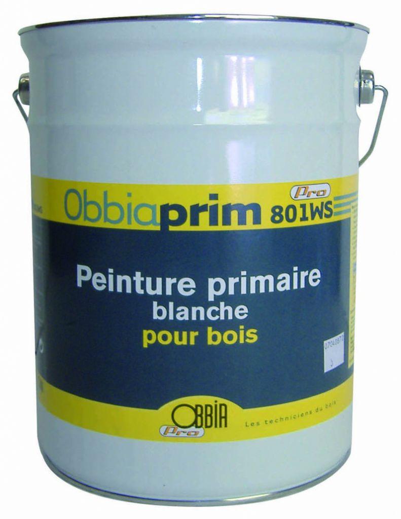 Peinture d'impression bois : Obbiaprim 801WS
