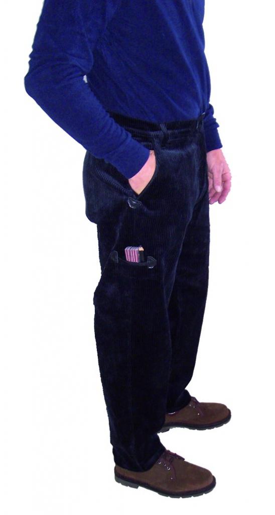Vêtement de travail : Pantalon velours Largeot