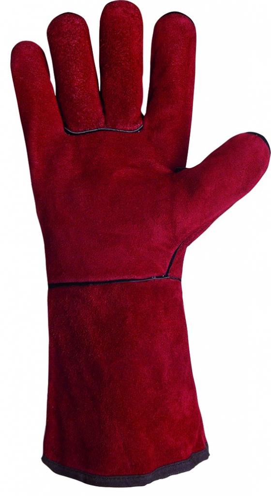 Protection soudeur : Gant anti-chaleur double molleton