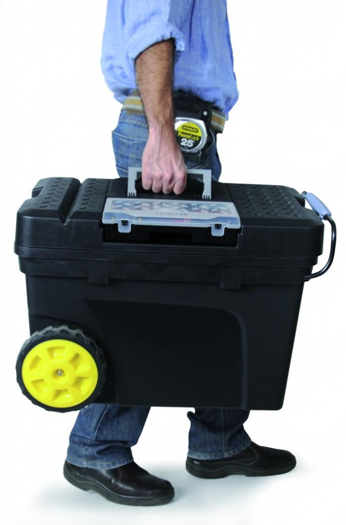 Rangement : Servante roulante de chantier plastique
