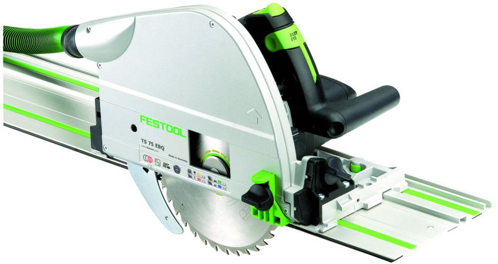 Scie circulaire : TS 75 EBQ-Plus-FS - hauteur de coupe à 90° - 75 mm - 1600 Watts