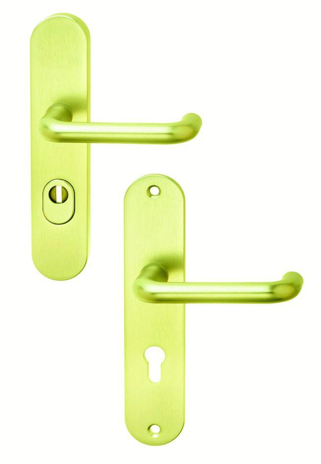 Ensemble de sécurité : Plaque 240 x 50 mm - entraxe de fixation 211 mm