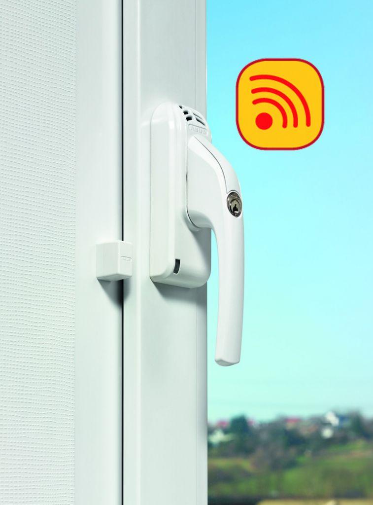 Poignée de fenêtre à clé avec alarme - FG 300 A