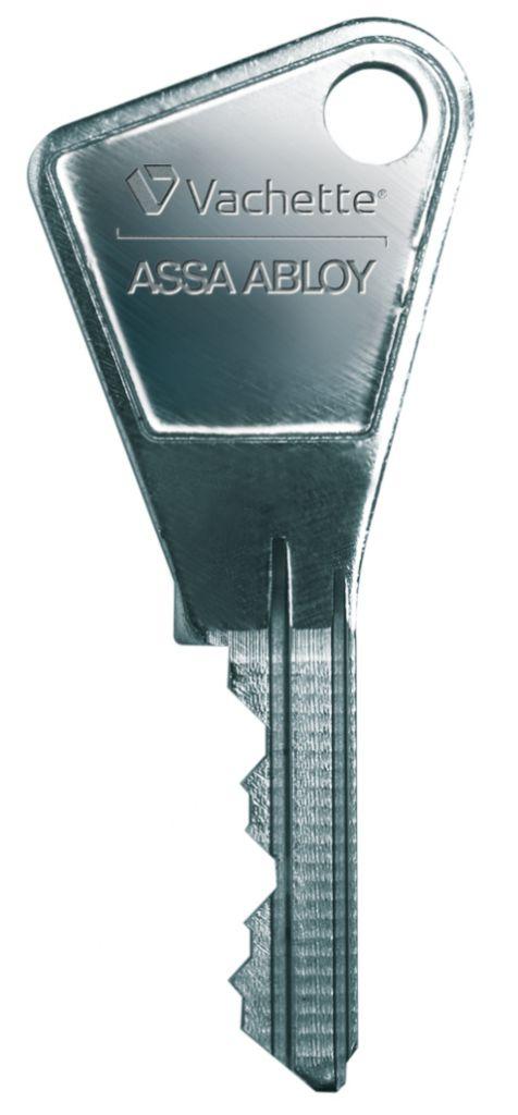 Cylindre européen standard : Clé supplémentaire pour cylindre séries 7100 - 5100 - 3110 - V136