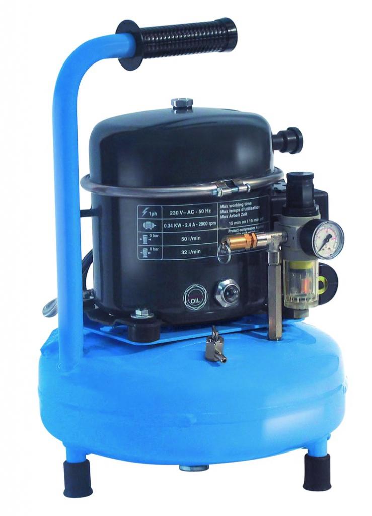 Compresseur d'air : Silair pro 50 - 9 litres