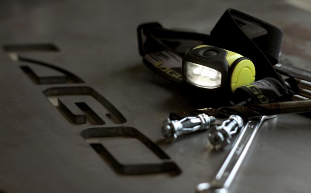 Lampe : Boxer 310 - 3 leds - double intensité