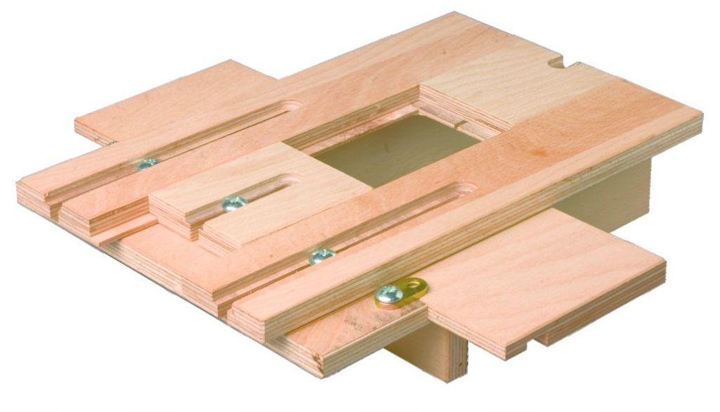 Connecteur métallique assemblage bois : Gabarit de fraisage pour connecteur invisible Gigant et Ricon