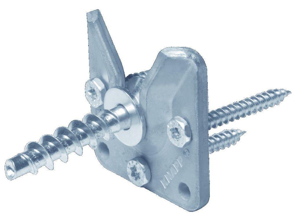 Connecteur métallique assemblage bois : Walco V60 et V80