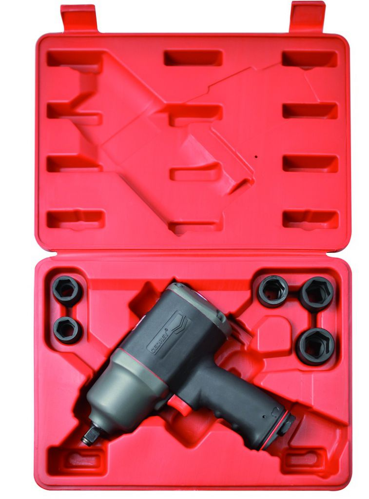 "Outillage air comprimé : Coffret 1/2"" - 900 Nm - KIT UT 8136 X"