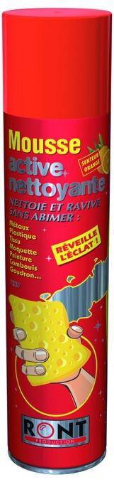 Produits de maintenance : Mousse active nettoyante