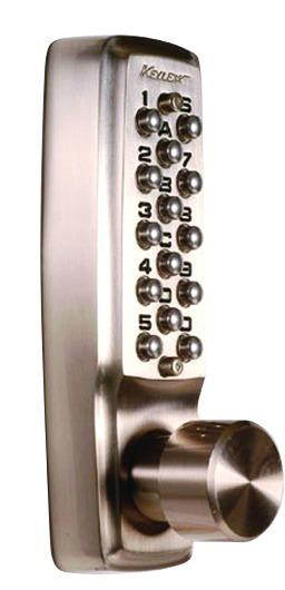 Verrou et serrure à code mécanique : Keylex 2000