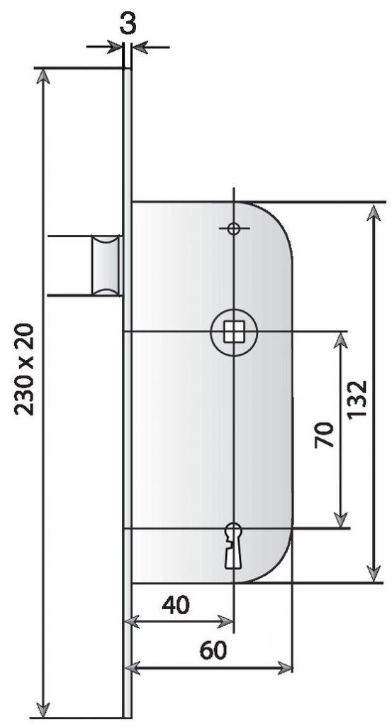 BEC DE CANE LARDER D22BR D S/G REV.