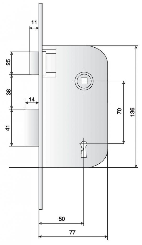 BEC DE CANE LARDER A.50 SG BR 250 D