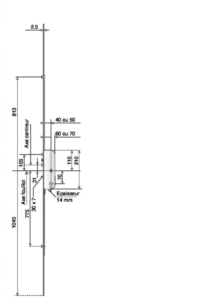 COFFRE LARD 4P AUT.AXE 40 2M15 T.16