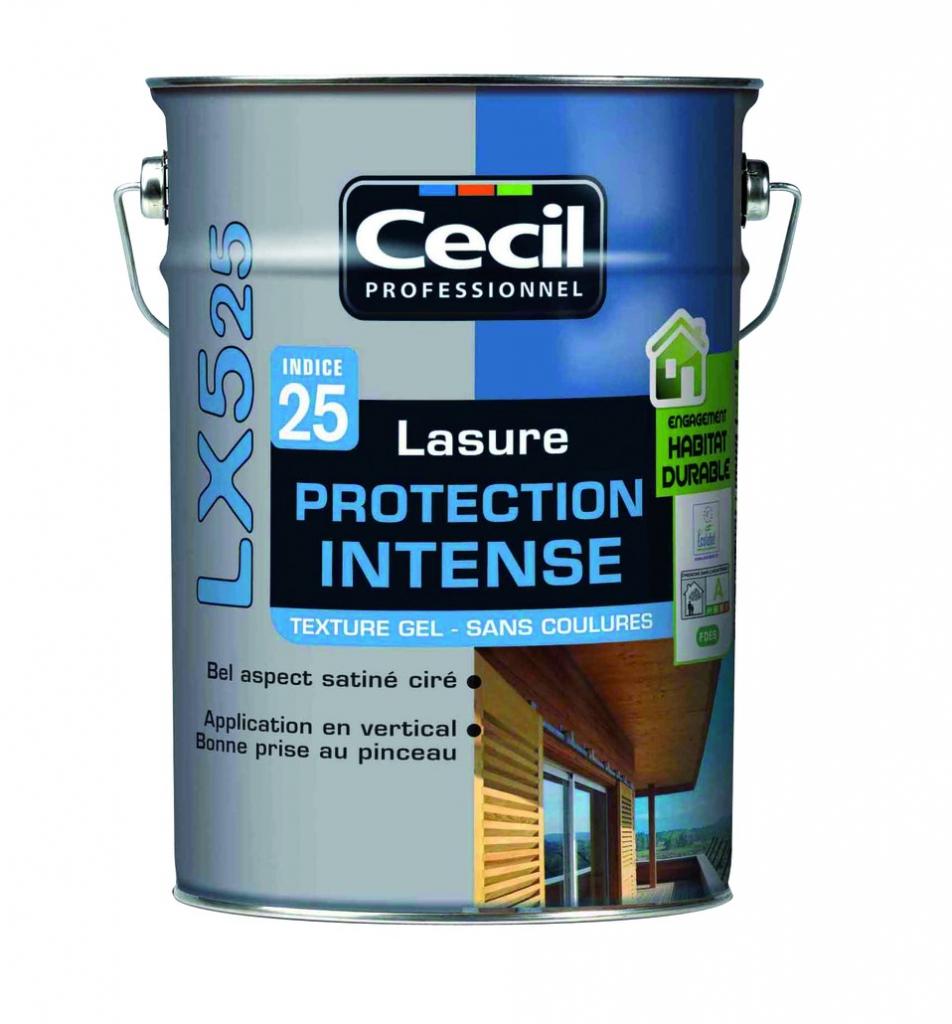 Traitement du bois : LX 525 gel - indice 25