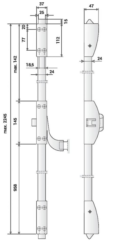 SER.PHB3202 2/3PTS CF/PF ARGENT