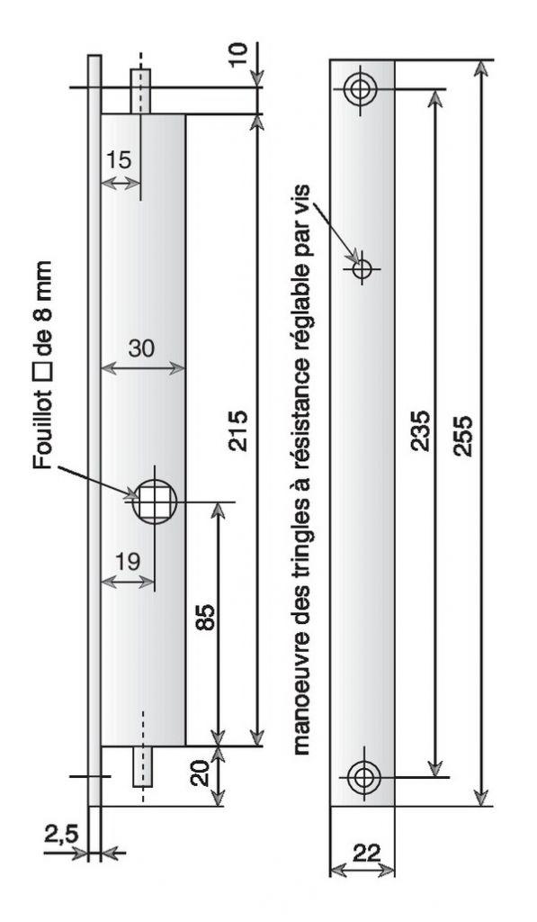 BEC DE CANE METALUX HT/BAS 2P.31-30