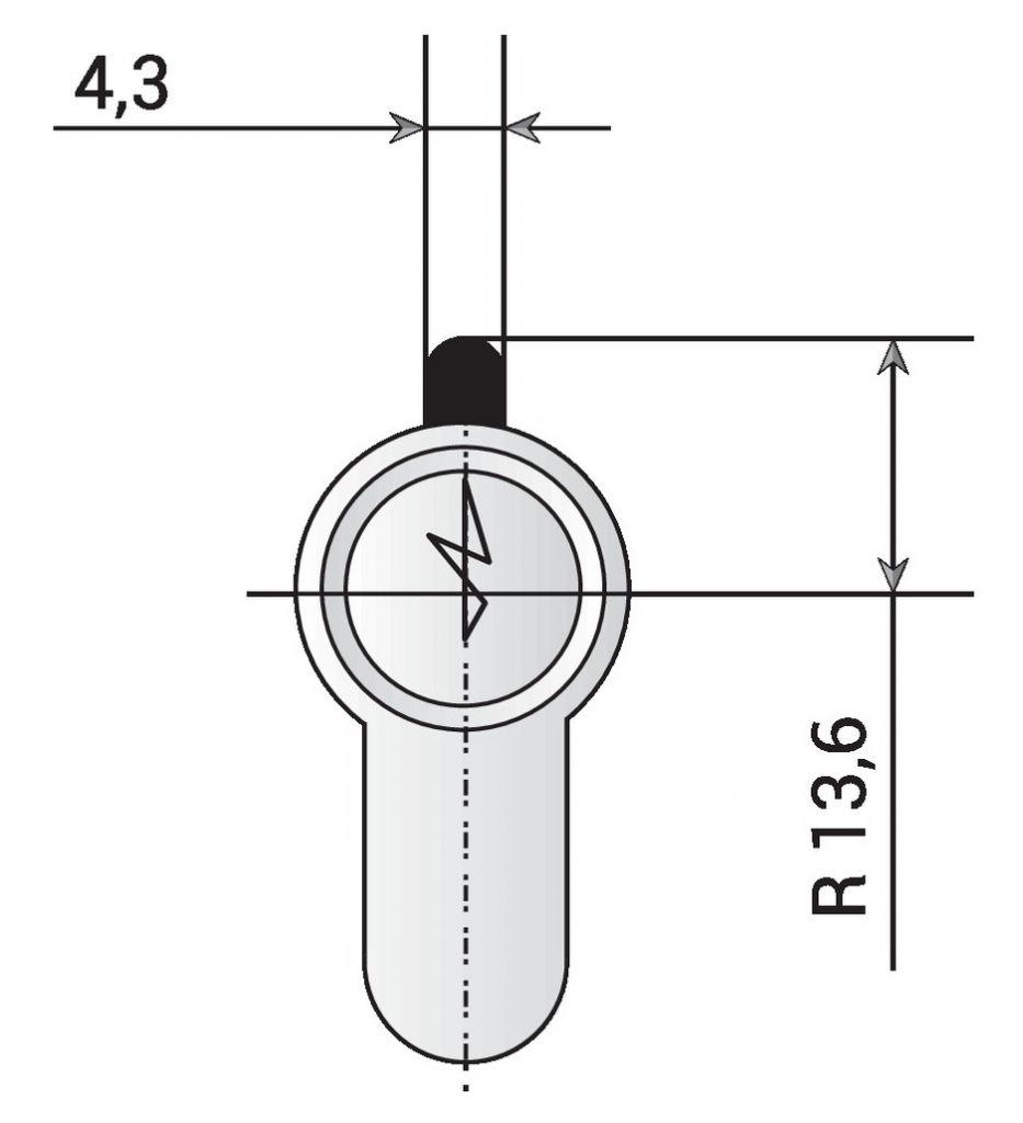 CYLINDRE METALUX NICK.K30X30 REF.30