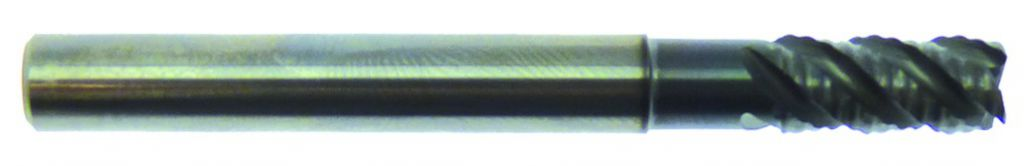 Fraise carbure : Fraise 4 dents carbure - rhino-acier/inox