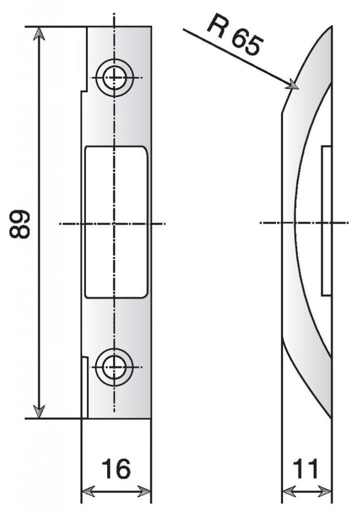 GACHE VAC. DE 1/2T A TOUPILLER