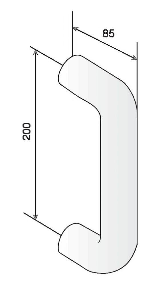 POIGNEE D.34 EA200 STG83 BLANC 19
