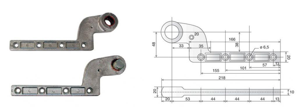 Pivot à frein Mustad : Accessoire pour 8660 TH et 9210 TH - Thermo+
