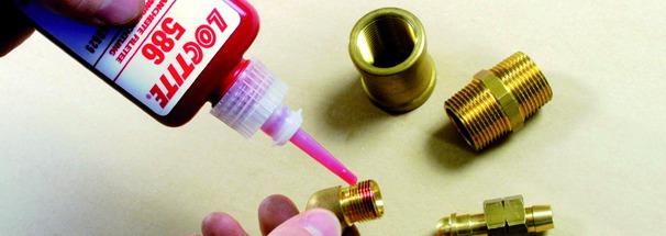 Produits de maintenance : Loctite 586 - étanchéité laiton et cuivre