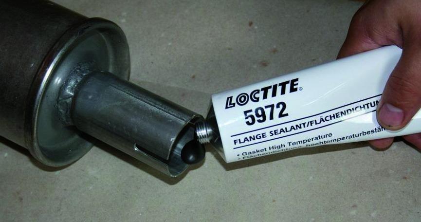 Produits de maintenance : Loctite 5972 - pâte étancheïté souple
