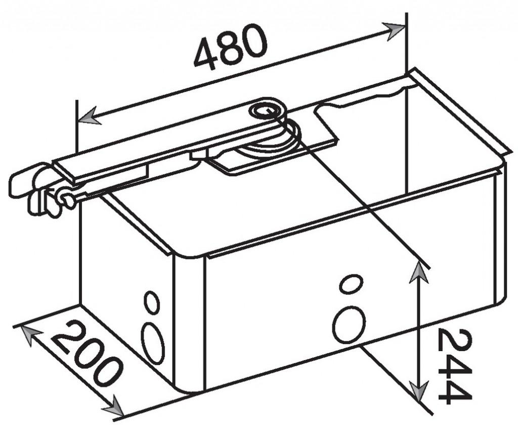 Motorisation de porte et portail : Box S800H - 24 V