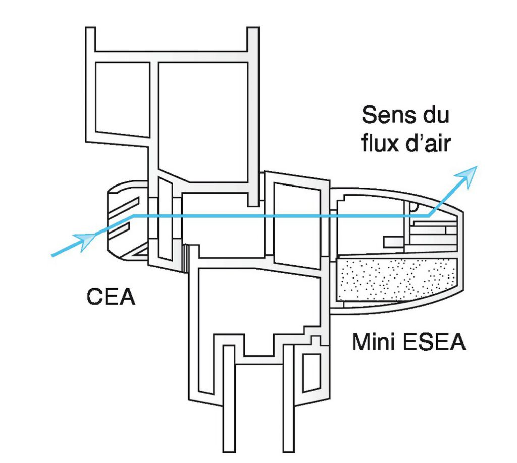 ENTREE AIR AUTO.ACOUST.MINI ESEA