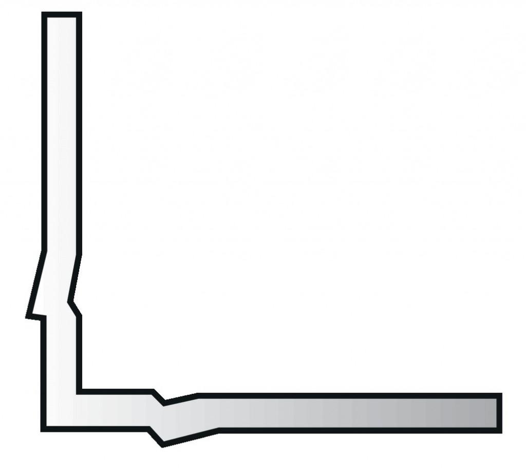 EQUERRE FIXATION GRILLE RAD. 394/04