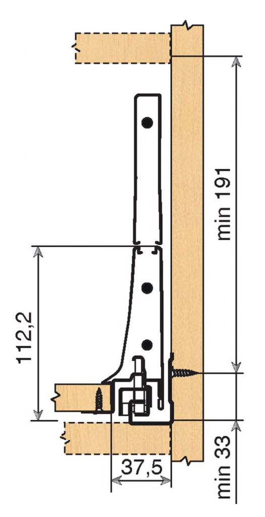 TIROIR COMP. INTIVO BC D/50KG/ 450